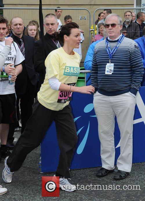 Suranne Jones Bupa Great Manchester Run Manchester, England