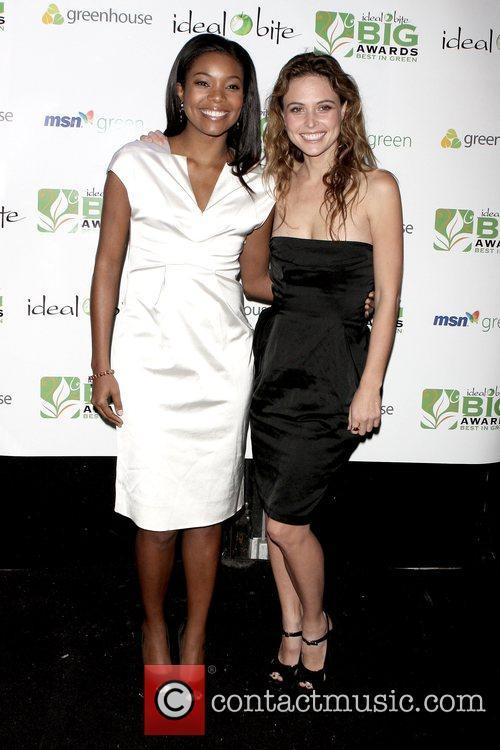 Gabrielle Union and Josie Maran Best in Green...