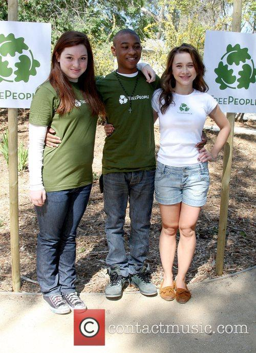 The Green Hollywood Tree Planting at TreePeople's Headquarters...