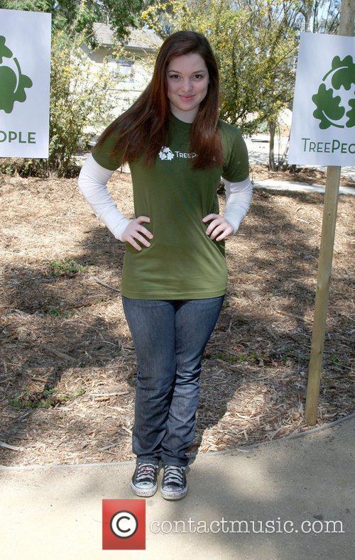 Jennifer Stone The Green Hollywood Tree Planting at...