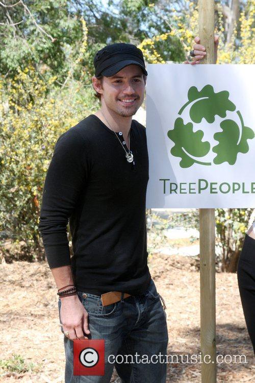 Kris Black The Green Hollywood Tree Planting at...