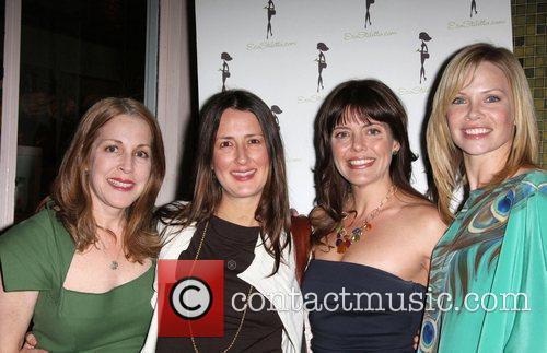 Anna Getty, Sarah Jane Morris, Guests EcoStiletto Green...