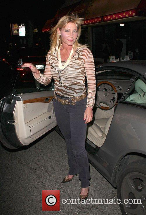 Pamela Bach-Hasselhoff EcoStiletto Green Girl's Night Out held...