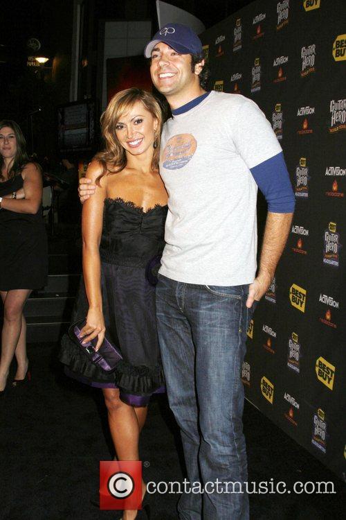 Karina Smirnoff and Zachary Levi 4