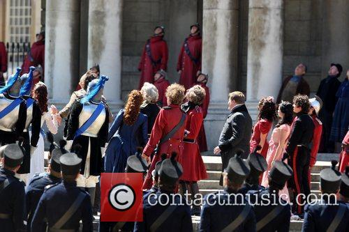 The Cast Filiming 1