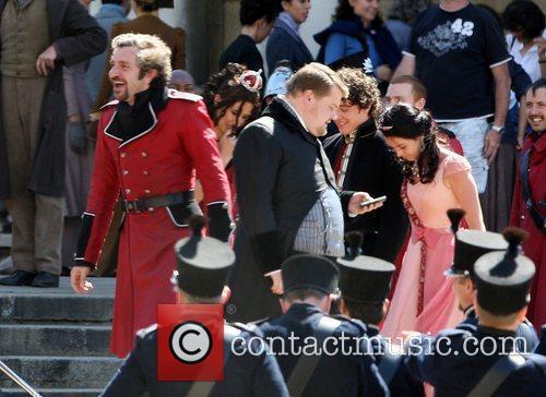 James Corden Checks His Mobile Phone 3