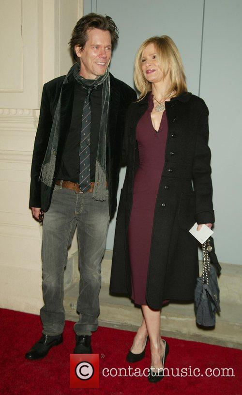 Kevin Bacon and Kyra Sedgwick Opening Night performance...