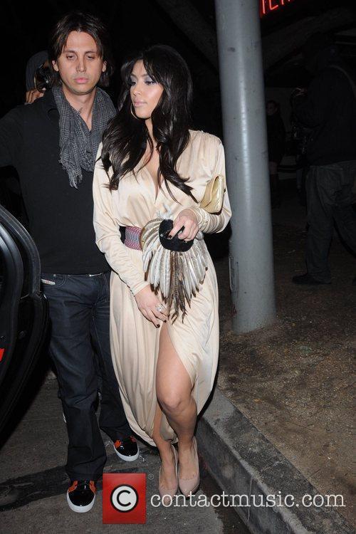 Kim Kardashian and Jonathan Cheban 3