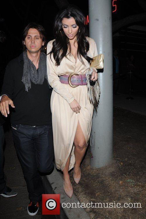Kim Kardashian and Jonathan Cheban 6