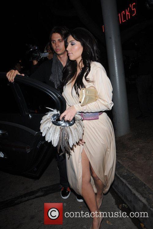 Kim Kardashian and Jonathan Cheban 2