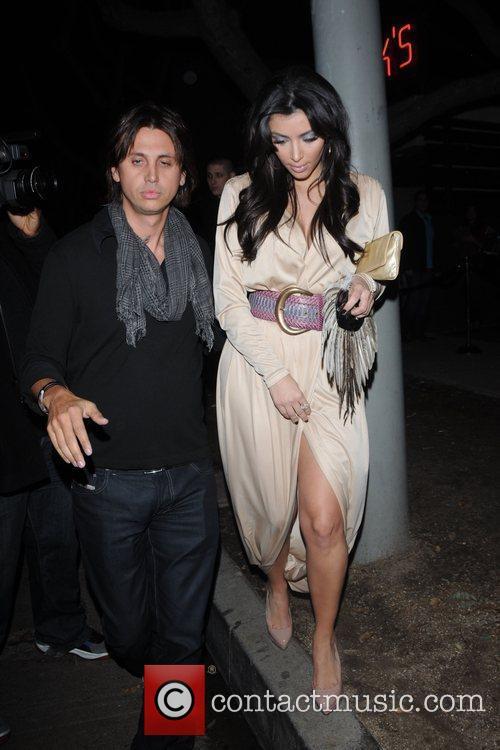 Kim Kardashian and Jonathan Cheban 5
