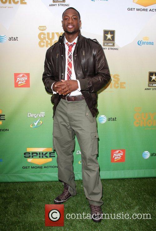 Dwyane Wade Spike TV's Guys Choice Awards held...