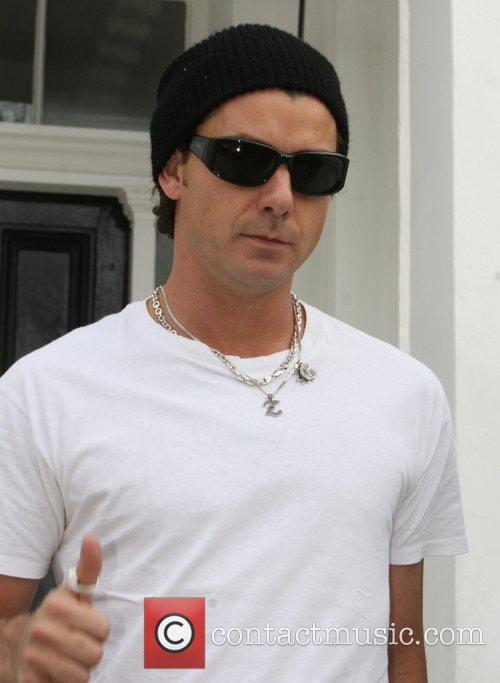 Gavin Rossdale out and about in North London...