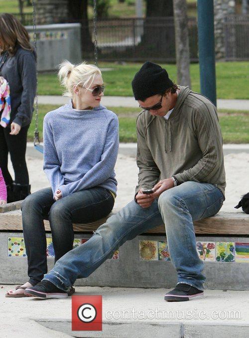 Gwen Stefani and her husband Gavin Rossdale spend...