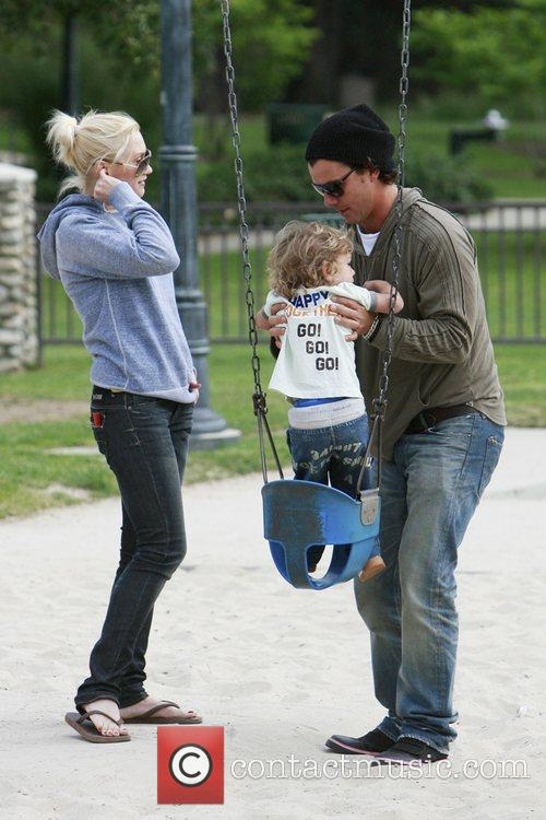 Gwen Stefani and her husband Gavin Rossdale put...