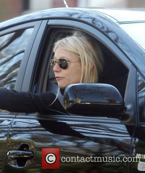 Gwyneth Paltrow has a dispute with another motorist...