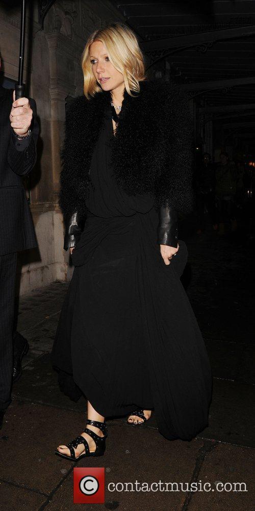 Gwyneth Paltrow having a night out at J....