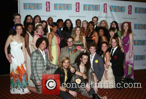 Cast Opening Night after party for the Broadway...