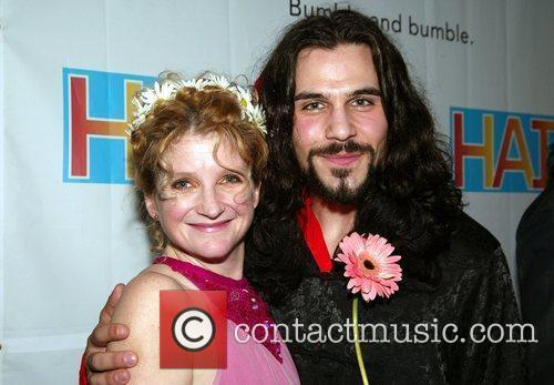 Megan Lawrence and Steel Burkhardt Opening Night after...