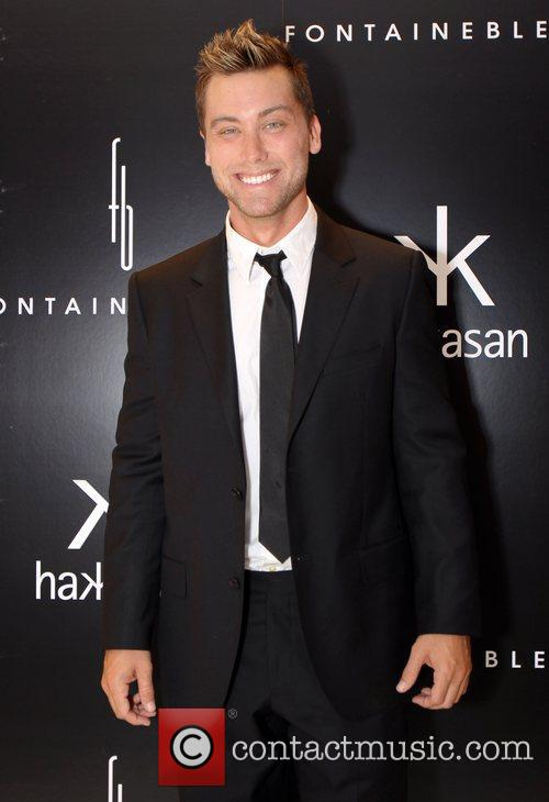 Lance Bass The grand opening of Hakkasan at...