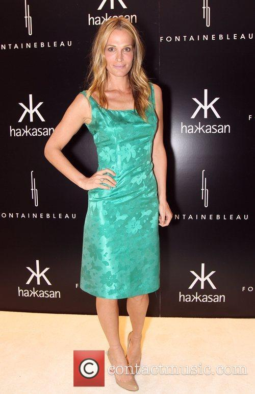 Molly Simms The grand opening of Hakkasan at...