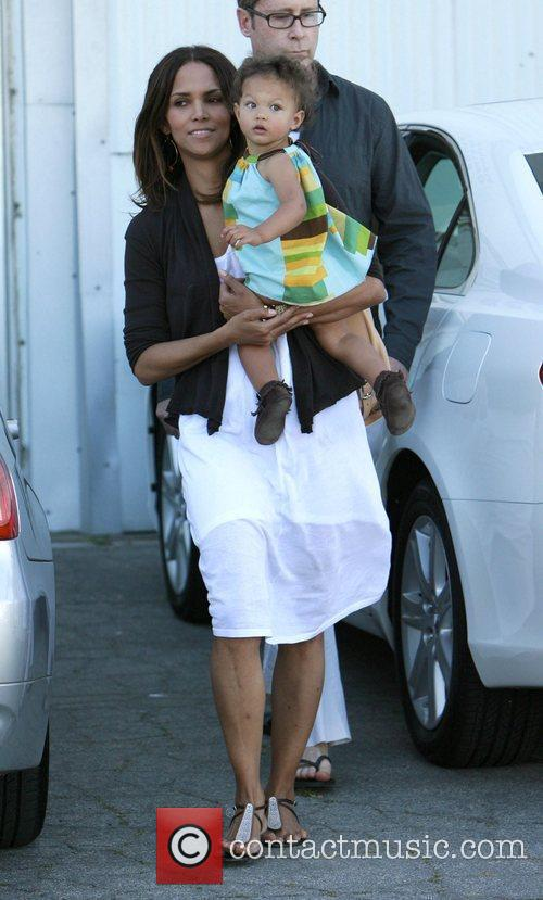 Halle Berry and daughter Nahla 12