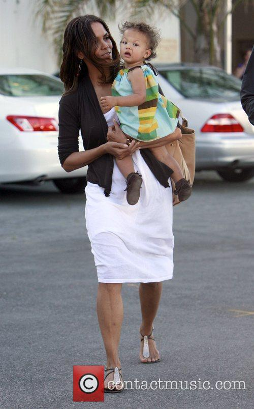 Halle Berry and Daughter Nahla 10