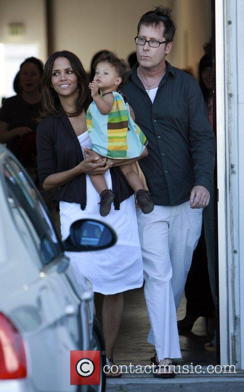 Halle Berry and daughter Nahla 13