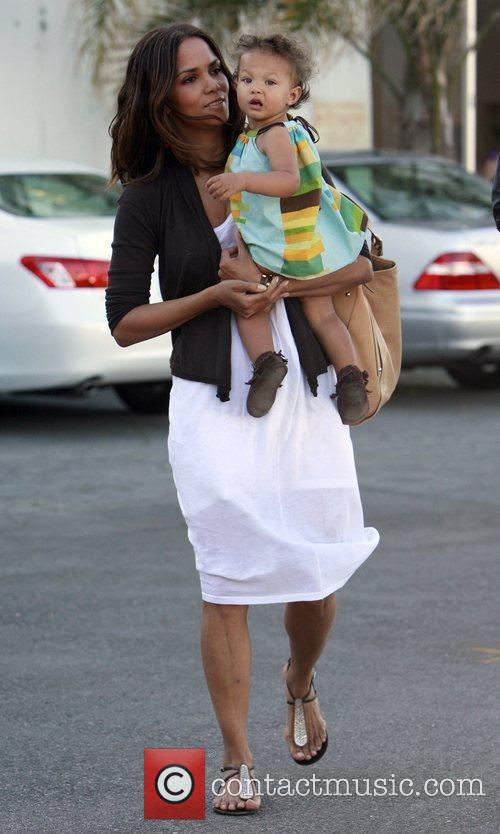 Halle Berry and daughter Nahla 14