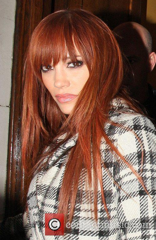 Jessica Sutta leaving the Carnaby Hotel