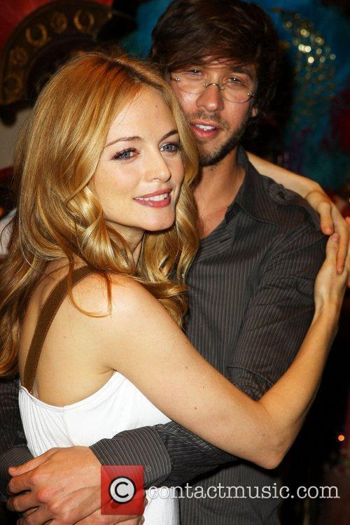 Heather Graham and boyfriend Yaniv Raz 1