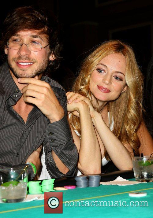 Heather Graham, boyfriend Yaniv Raz, Caesars Palace