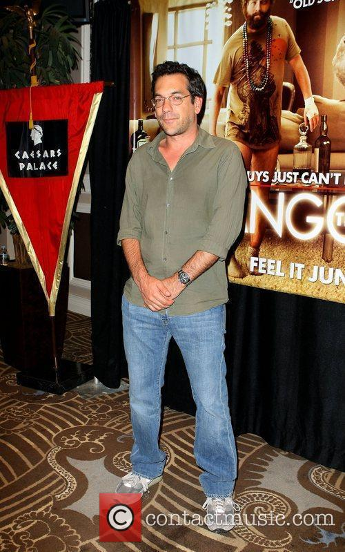 Todd Phillips The Hangover Charity Poker Tournament at...