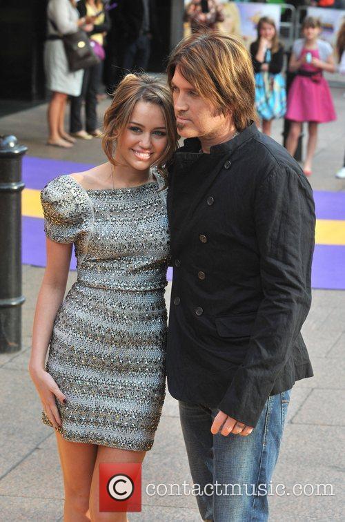 Miley Cyrus and Billy Ray Cyrus Hannah Montana...
