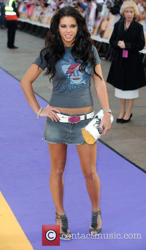 Bianca Gascoigne UK film premiere of 'Hannah Montana'...