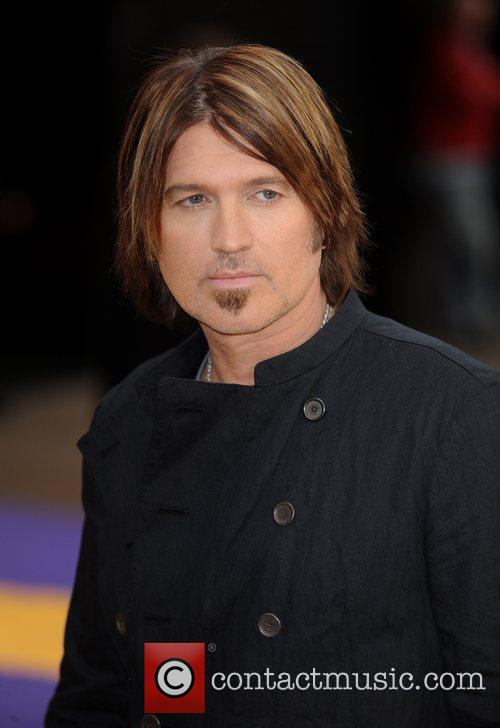 Billy Ray Cyrus UK film premiere of 'Hannah...