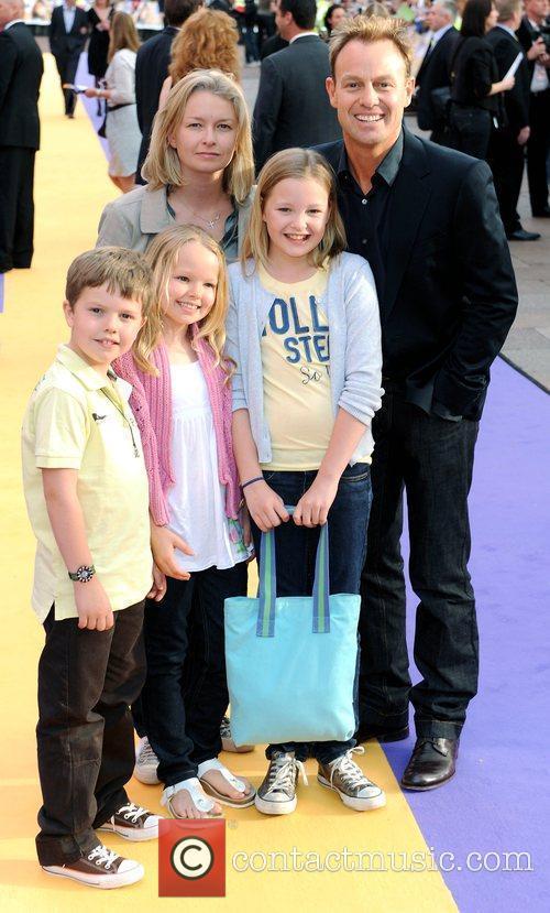Jason Donavan and guests UK film premiere of...