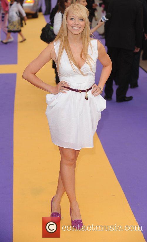 Liz McClarnon UK film premiere of 'Hannah Montana'...