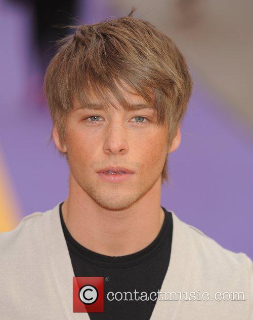 Mitch Hewer UK film premiere of 'Hannah Montana'...
