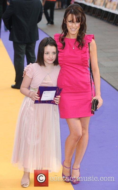 Nicola T UK film premiere of 'Hannah Montana'...