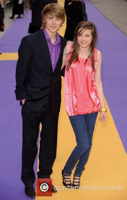 Thomas Law and guest UK film premiere of...
