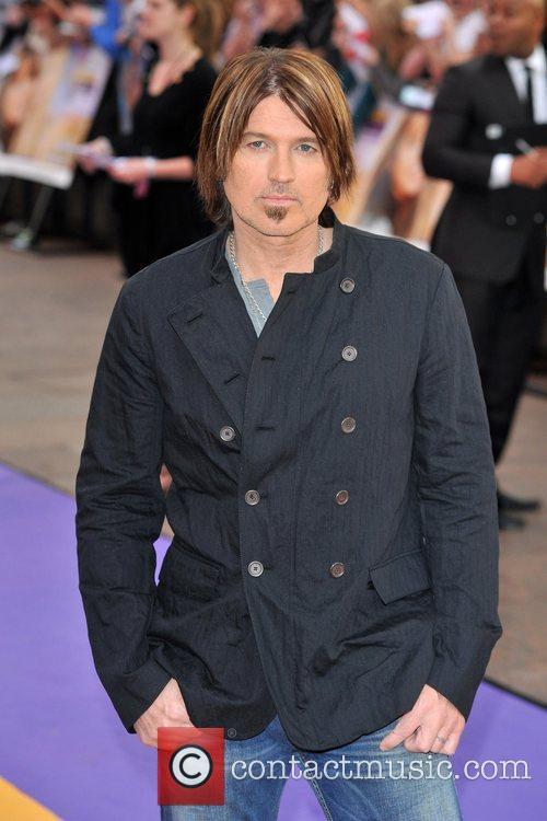 Billy Ray Cyrus Hannah Montana UK premiere held...