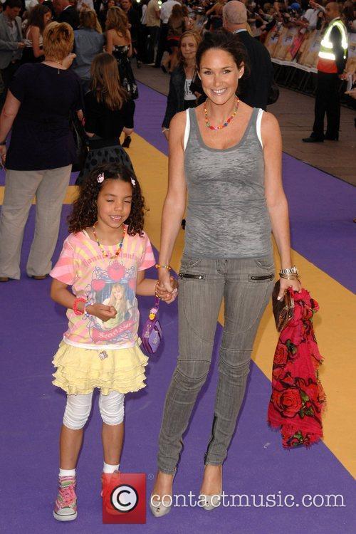 Claire Merry  Hannah Montana UK premiere held...
