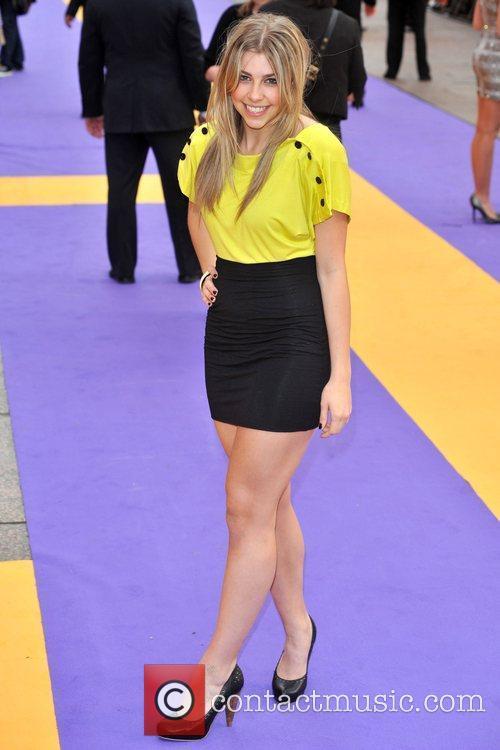 Gemma McKenzie- Brown  Hannah Montana UK premiere...