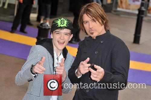 George Sampson and Billy Ray Cyrus Hannah Montana...