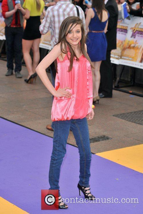 Madeline Duggan  Hannah Montana UK premiere held...
