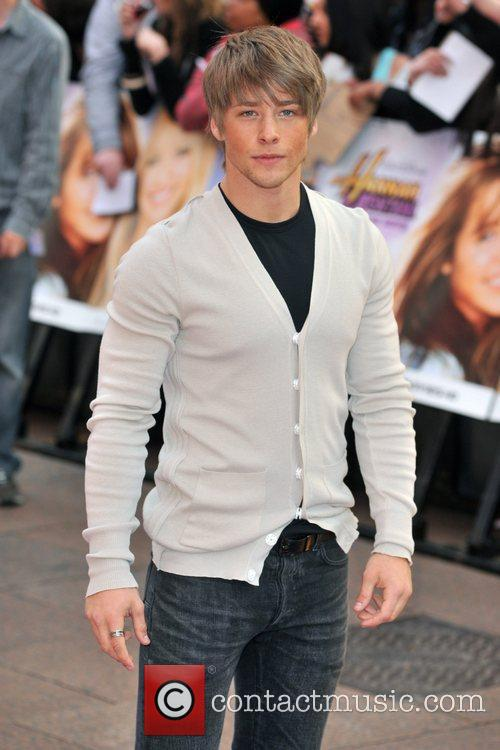 Mitch Hewer Hannah Montana UK premiere held at...