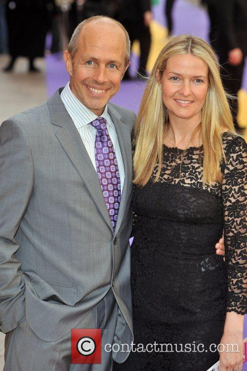 Peter Chelsom and Guest Hannah Montana UK premiere...