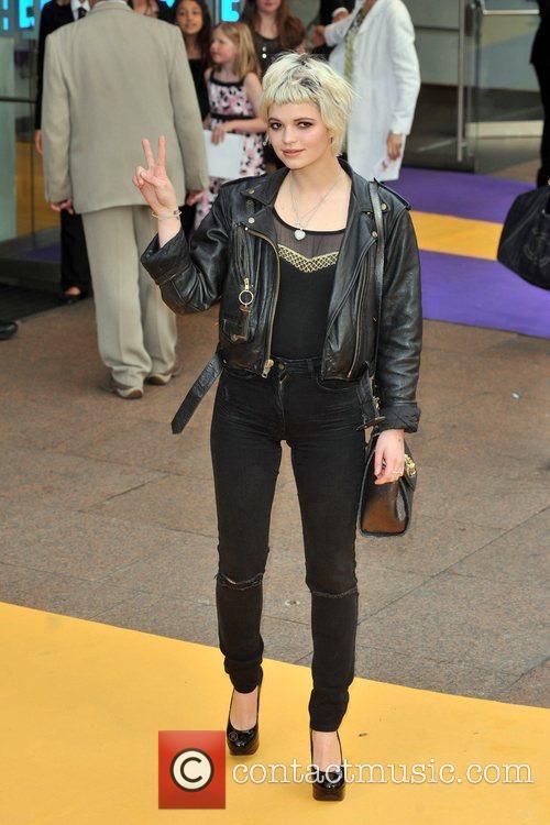 Pixie Geldof Hannah Montana UK premiere held at...