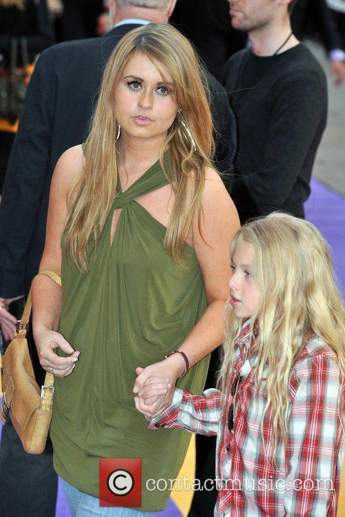 Sarah Barrand Hannah Montana UK premiere held at...